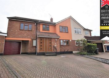 Thumbnail 4 bed semi-detached house for sale in Norman Crescent, Rayleigh