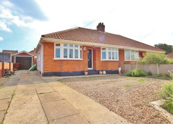 Thumbnail 3 bed semi-detached bungalow for sale in Hawthorne Avenue, Hellesdon, Norwich