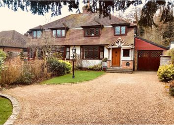 Thumbnail 3 bed semi-detached house for sale in London Road Halstead, Sevenoaks