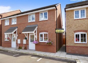 Thumbnail 2 bedroom semi-detached house for sale in Hollingworth Close, Stone, Staffordshire