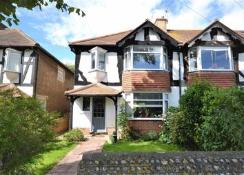 Thumbnail 3 bedroom end terrace house for sale in South Farm Road, Broadwater, Worthing, West Sussex