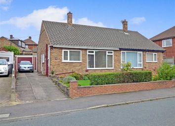 Thumbnail 2 bed semi-detached bungalow for sale in Ashendene Grove, Hanford, Stoke-On-Trent
