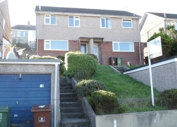 Thumbnail 2 bed semi-detached house for sale in Lipson, Plymouth, Devon