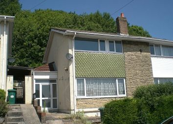 Thumbnail 3 bed semi-detached house to rent in Lawrence Hill Avenue, Newport