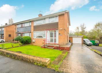 Thumbnail 3 bedroom semi-detached house for sale in Hafod Road, Ponthir, Newport