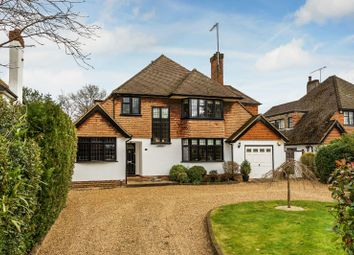 Thumbnail 4 bed detached house for sale in The Riding, Woking