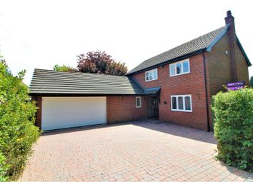 Thumbnail 4 bed detached house for sale in Groomsdale Lane, Hawarden