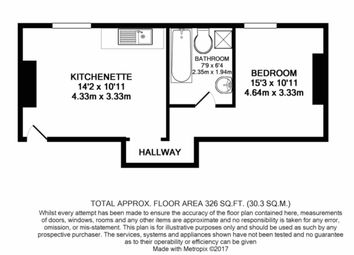 Thumbnail 1 bedroom flat to rent in 147B Nottingham Road, Mansfield