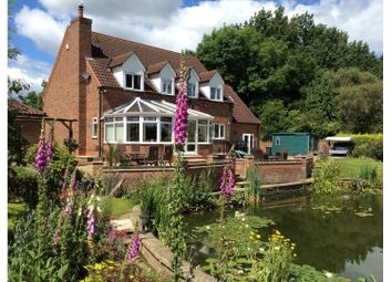 Thumbnail 4 bed detached house for sale in Lodge Lane, Gainsborough