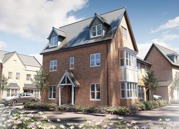"Thumbnail 3 bed semi-detached house for sale in ""The Dunster"" at Oak Tree Road, Hugglescote, Coalville"