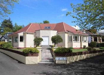 Thumbnail 4 bed detached house to rent in Deramore Avenue, Whitecraigs, Glasgow