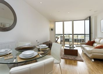 Thumbnail 1 bed flat to rent in Admirals Tower, 8 Dowells Street, New Capital Quay, Greenwich, London