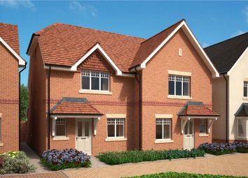 Thumbnail 4 bed semi-detached house for sale in Stockwood Way, Farnham, Surrey