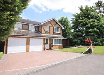 Thumbnail 4 bedroom detached house for sale in Tinsey Close, Egham, Surrey