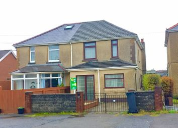 Thumbnail 3 bed semi-detached house for sale in Camnant Road, Banwen, Neath