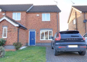Thumbnail 2 bed semi-detached house for sale in Coverdale Road, Scunthorpe