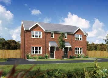 "Thumbnail 3 bed semi-detached house for sale in ""Caplewood"" at Ffordd Eldon, Sychdyn, Mold"
