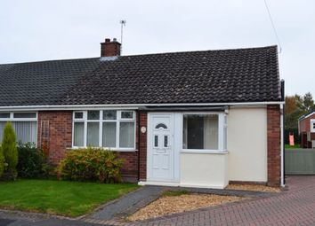 Thumbnail 2 bed bungalow to rent in Northfields Place, Shavington, Crewe