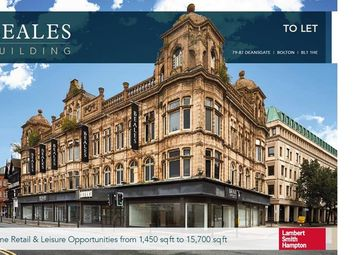 Thumbnail Leisure/hospitality to let in Unit 2, Beales Building, 79/87 Deansgate, Bolton