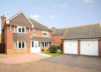 Thumbnail 4 bed detached house for sale in Linnet Close, Littlehampton, West Sussex
