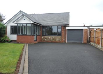 Thumbnail 3 bed detached bungalow to rent in Ridge Close, Barlaston, Staffs