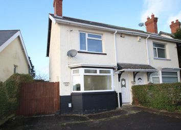 Thumbnail 2 bedroom semi-detached house for sale in Mostyn Road, Ely, Cardiff