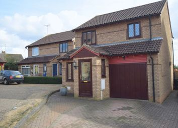 Thumbnail 3 bed detached house for sale in Hexham Gardens, Bletchley, Milton Keynes