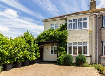 Thumbnail 4 bedroom semi-detached house for sale in Keith Way, Southend-On-Sea