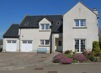 Thumbnail 4 bed detached house for sale in Oxnam Road, Jedburgh