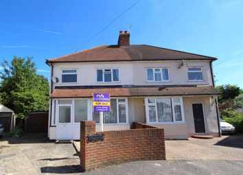 Thumbnail 3 bed semi-detached house for sale in Franks Road, Guildford