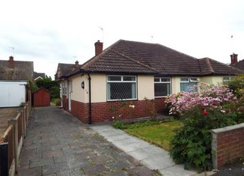Thumbnail 2 bed bungalow for sale in Ellesmere Avenue, Upton, Chester, Cheshire