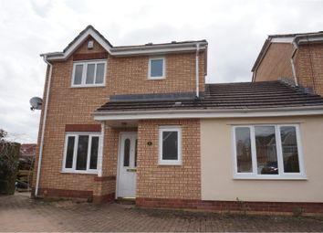 Thumbnail 3 bed link-detached house for sale in Heather Court, Treharris
