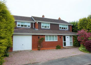 Thumbnail 4 bed detached house for sale in Royal Oak Drive, Stafford