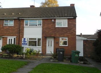 Thumbnail 3 bedroom end terrace house to rent in Hurstbourne Crescent, Wolverhampton