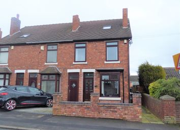 Thumbnail 3 bed terraced house for sale in Burntwood Road, Norton Canes, Cannock
