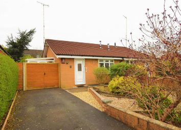 Thumbnail 2 bedroom semi-detached bungalow for sale in Laxey Grove, Fulwood, Preston