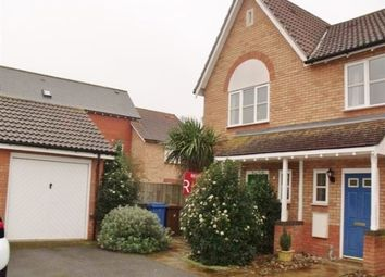 Thumbnail 2 bed semi-detached house to rent in Darter Close, Ravenswood, Ipswich