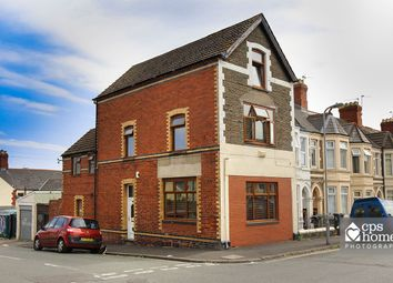 Thumbnail 4 bed end terrace house for sale in Tewkesbury Street, Roath, Cardiff