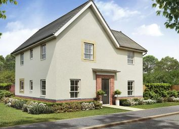 "Thumbnail 4 bed detached house for sale in ""Alderney"" at Lightfoot Lane, Fulwood, Preston"