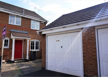 Thumbnail 3 bed semi-detached house for sale in Derrys Hollow, Coalville