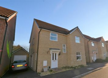 Thumbnail 4 bed detached house for sale in Wiseman Close, Aylesbury