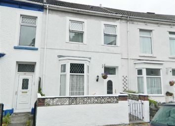 Thumbnail 3 bed terraced house for sale in St. Helens Avenue, Swansea