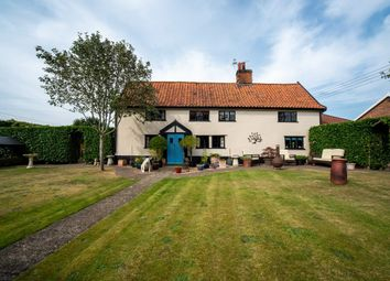Thumbnail 4 bed cottage for sale in Chequers Lane, Bressingham, Diss
