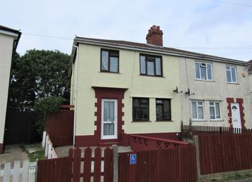 Thumbnail 4 bed semi-detached house to rent in Beryton Road, Gosport