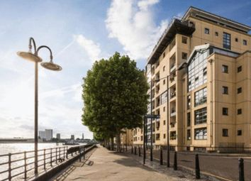 Thumbnail 2 bed flat for sale in Burrell's Wharf Square, London