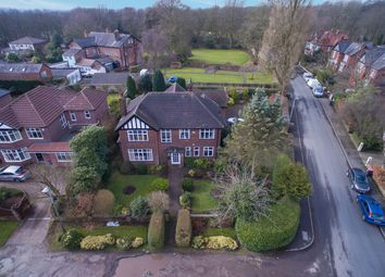 Thumbnail 5 bed detached house for sale in Longley Drive, Worsley, Manchester