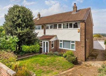 Thumbnail 3 bed semi-detached house for sale in Stoneyfield Road, Coulsdon