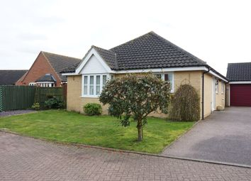 Thumbnail 2 bed detached bungalow for sale in Jenner Close, Bungay