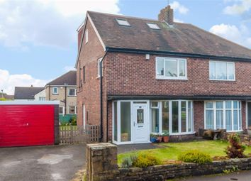 Thumbnail 4 bed semi-detached house for sale in Moorfield Gardens, Pudsey