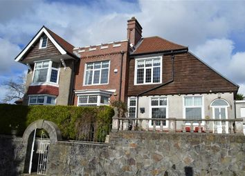 Thumbnail 4 bed detached house for sale in Glanmor Park Road, Swansea
